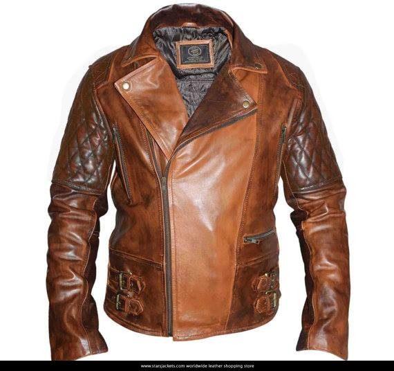 Diamond Rustic Motor Bike Jacket