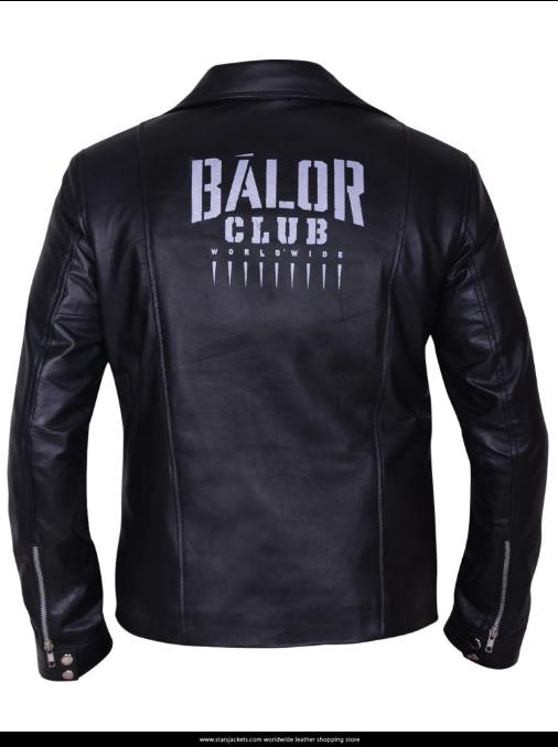 FINN BALOR WWE BIKER JACKET