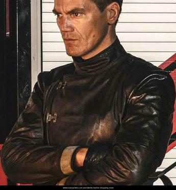 Fahrenheit 451 Michael Shannon Black Jacket