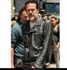 Negan Black Leather Jacket