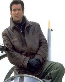 Pierce Brosnan Tomorrow Never Dies Jacket