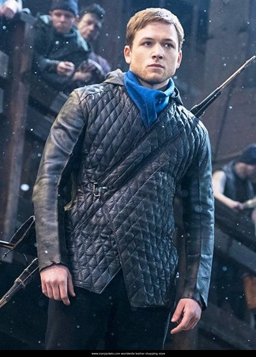 Robin-Hood-Taron-Egerton-Quilted-Jacket-510x711