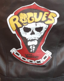 The Rogues The Warriors Leather Vest