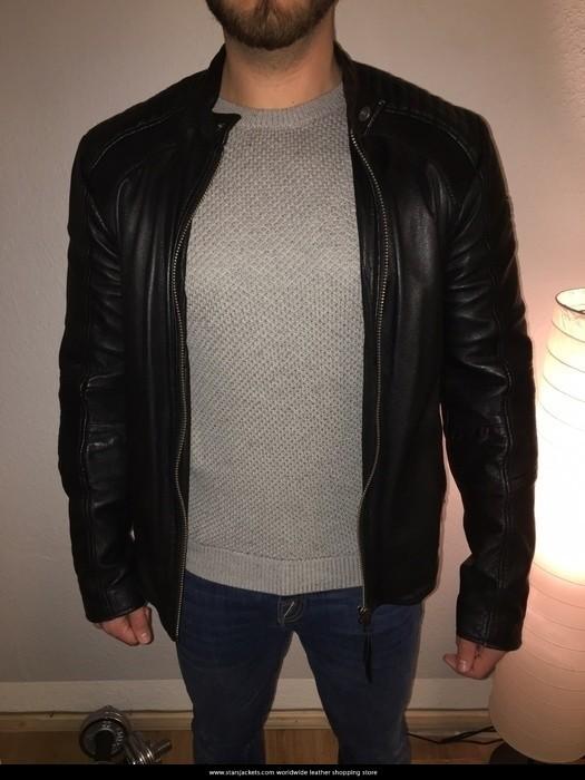 Zayn Malik SlimFit Black Jacket