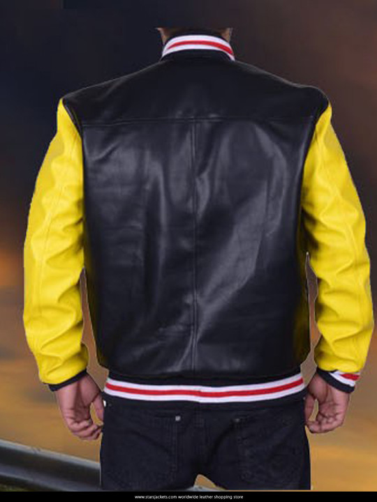 Roots Cowboy Calgary Stampede Leather Jacket Stars Jackets