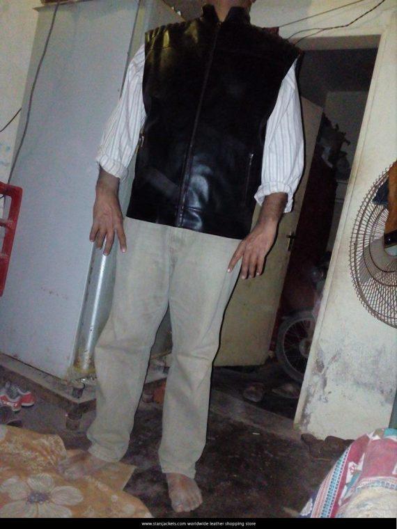 punshier leather jacket