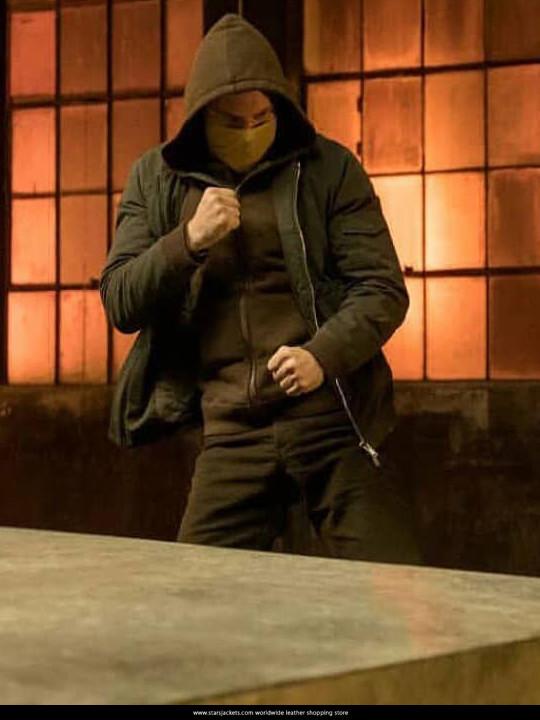 Finn Jones Iron fist Season 2 Jacket