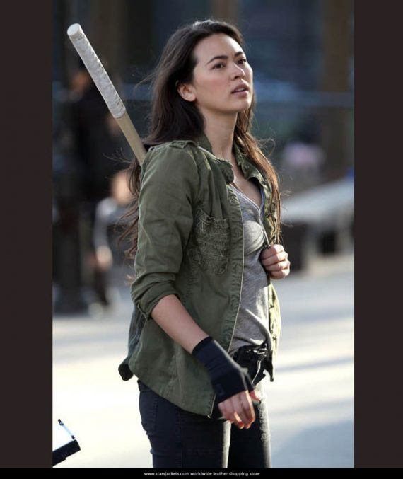 Jessica Henwick Iron Cotton Jacket