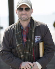 The Wife Christian Slater Cotton Jacket