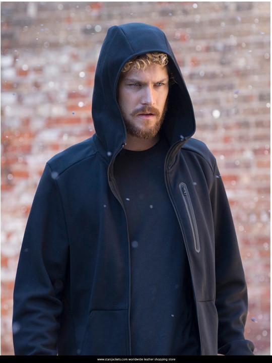 Iron Fist Danny Rand Black Hoodie
