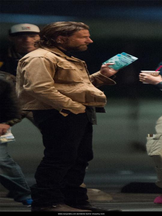 Bradley Cooper a star is born Cotton Jacket
