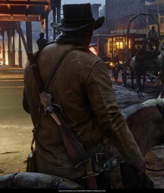 Red-Dead-Redemption-2-Arthur-morgan-Gaming-Jacket