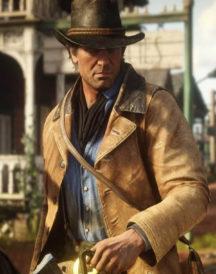 Red Dead Redemption Arthur Morgan Brown Jacket