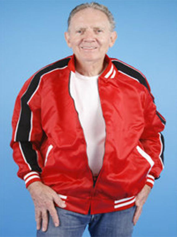 1950s Lenny Lone Wolf Red Jacket