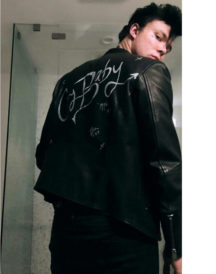 5sos Ashton Cry Baby Black Jacket