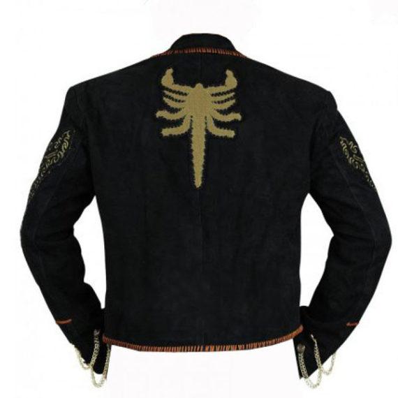 Antonio Banderas Once Upon A Time In Mexico El Mariachi Black Jacket