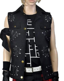 Argentum Prompto Final Fantasy Leather Vest
