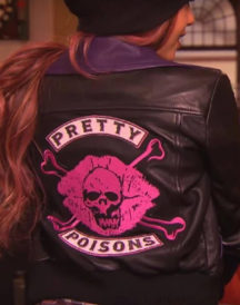 Vanessa Morgan Skull Kiss Riverdale Poisons Jacket