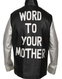 Vanilla Ice Word To Your Mother Leather Jacket