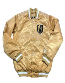 Vegas Golden Knights Men's Satin Sports Jacket