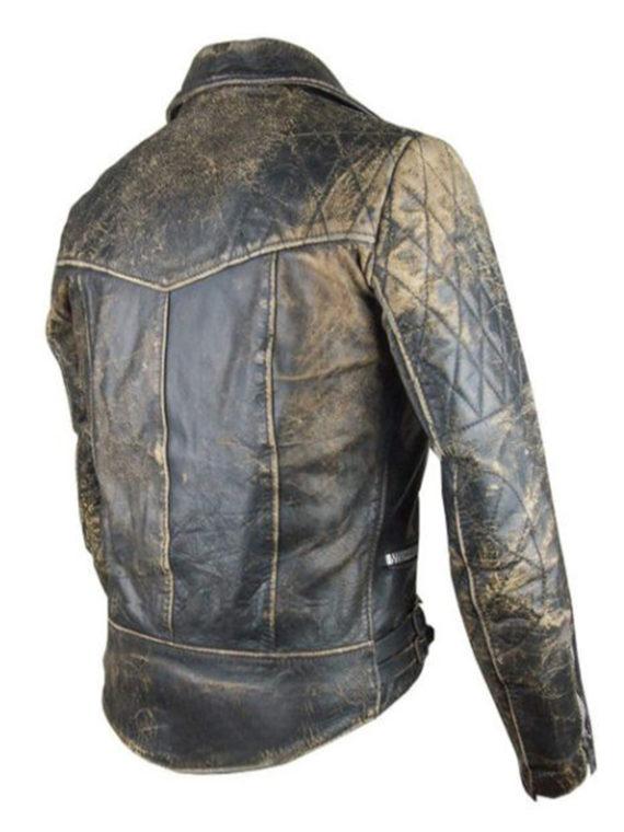Vintage Cafe Racer Retro 2 Motor Cycle Jacket