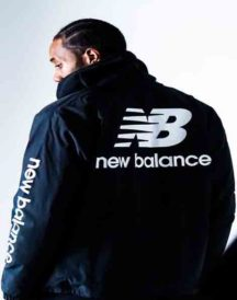 Vintage New Balance Big Logo Coach Jacket