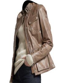 Women's Belstaff Triumph Leather Jacket