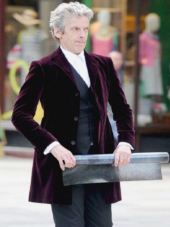 12th Doctor Peter Capaldi Doctor Blazer