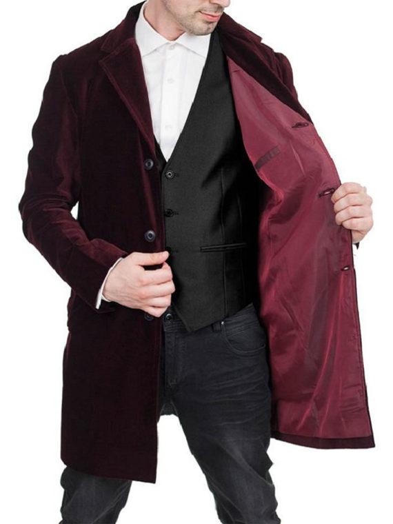 12th Doctor Peter Capaldi Doctor Coat