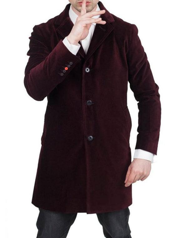 12th Doctor Peter Capaldi Doctor Velvet Blazer