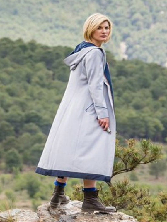 13th Doctor Jodie Whittaker Hoodie Coat