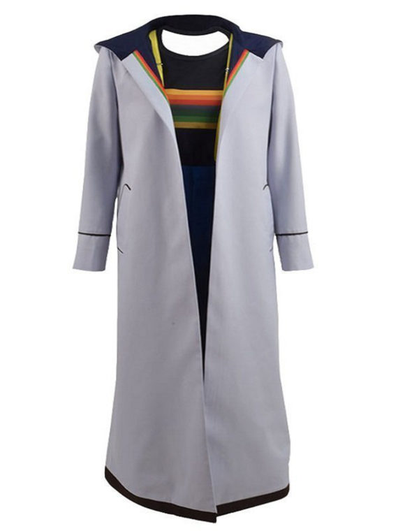13th Doctor Jodie Whittaker Hoodie Long Coat