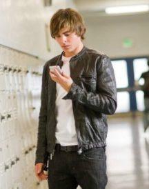 17-Again Zac Efron Leather Jacket