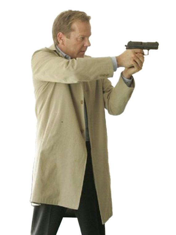 24 Day Kiefer Sutherland Long Coat