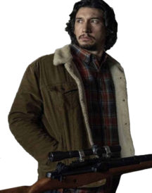 Adam Driver BlacKk Klansman Brown Jacket