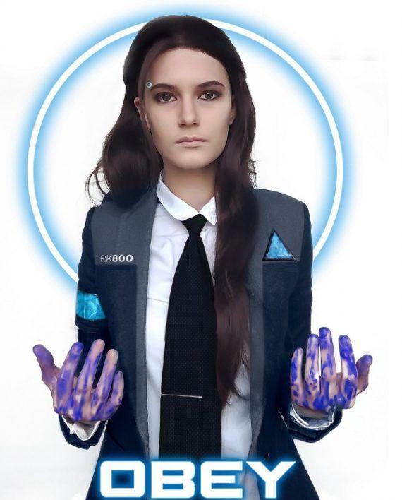Agent Kara Detroit Become Human Cosplay Caot