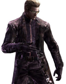 Albert Wesker Resident Evil 5 Purple Coat