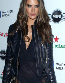Alessandra Ambrosio Grammy Awards Jacket