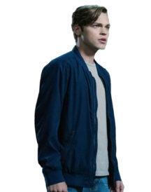 Alexander Calvert Supernatural Jack Blue Jacket