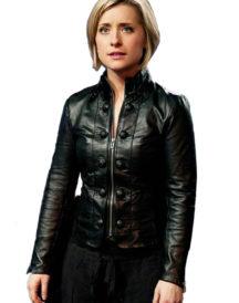 Allison Mack Smallville Leather Jacket