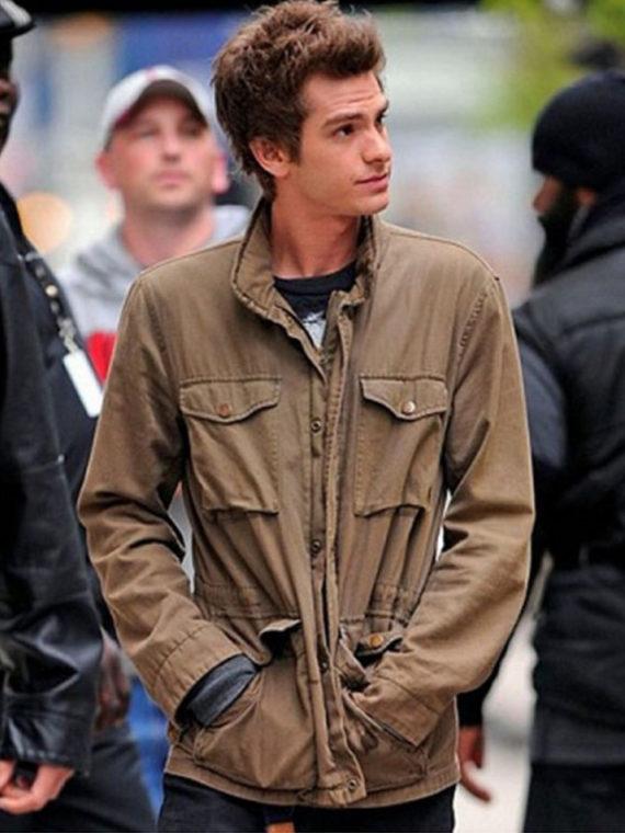 Amazing Spiderman Peter Parker Jacket