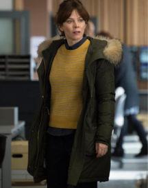 Anna Friel TV Series Marcella Long Coat