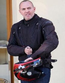 Arnold Vosloo Mummy Biker Jacket