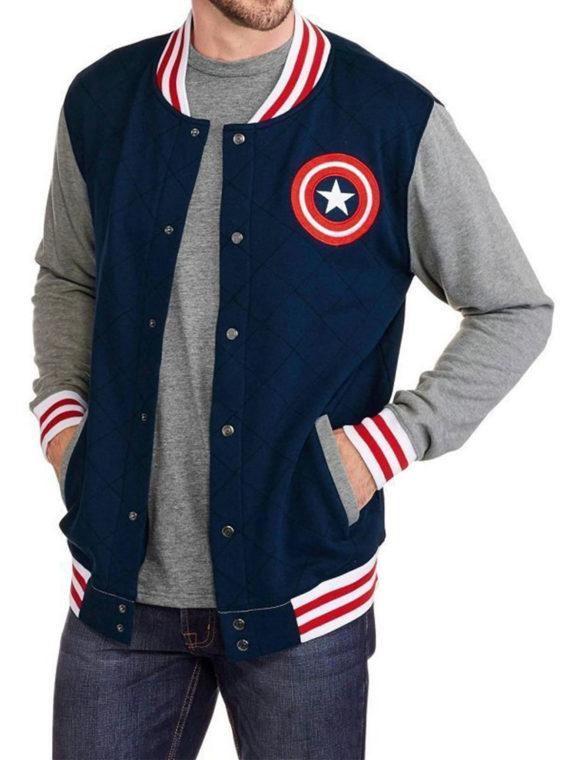 Captain America Varsity Jacket