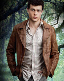 Ethan Wate Distressed Leather Jacket