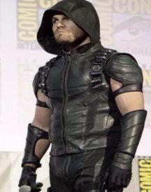 Oliver Queen Arrow Hooded Vest