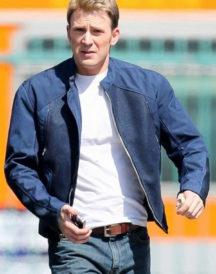 Chris Evans Avengers Jacket
