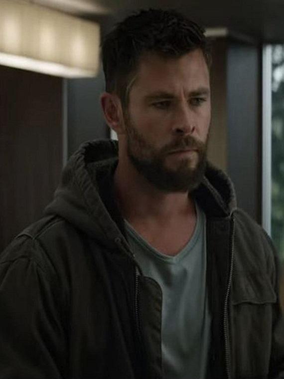 Chris Hemsworth Avengers Endgame Hoodie Jacket