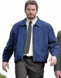 Chris Pratt Parks and Recreation Blue Jacket