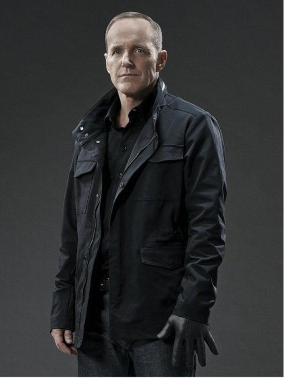 Clark Gregg Agents of Shield Cotton Jacket